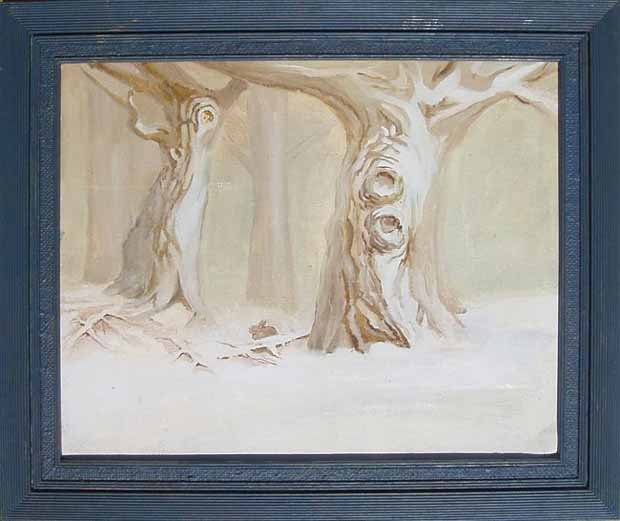 Painting Oil Trees