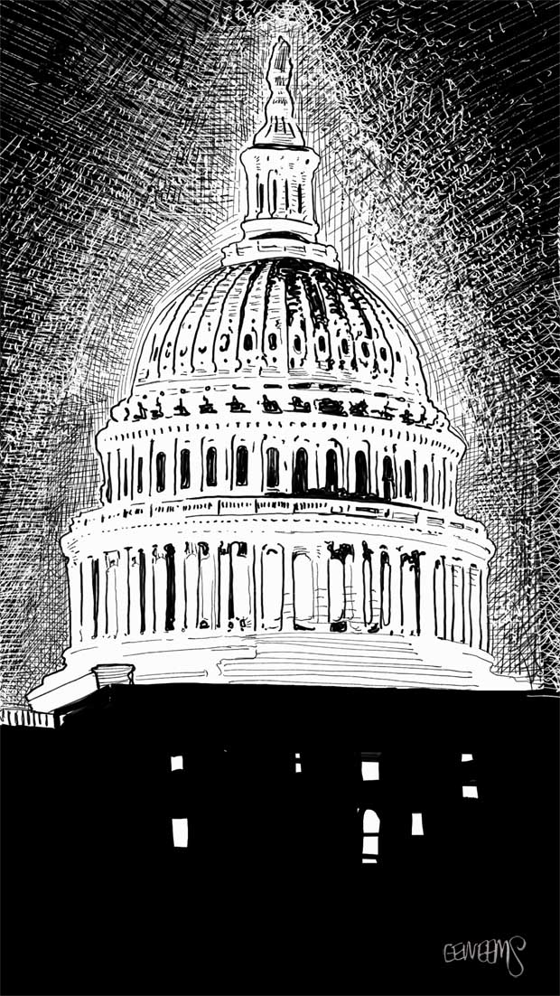Capitol Dome by Erik Weems