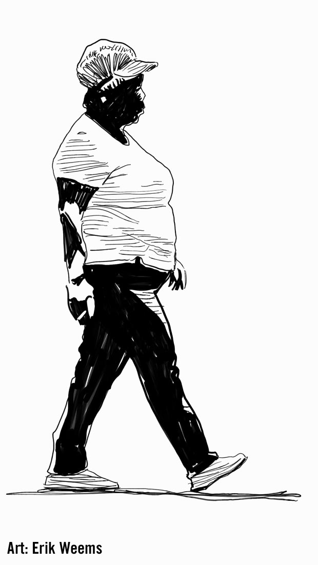 Walking Sketch