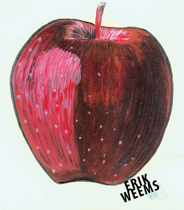 Apple artwork - Erik Weems